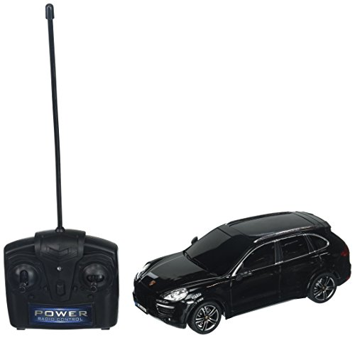 Full Function Radio Control - Braha Full Function Remote Control 1:24 Scale Porsche Cayanne, Black