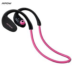 US Shipping Pink Cheetah 4.1 Bluetooth Headset Headphones Wireless Headphone Microphone AptX Sport
