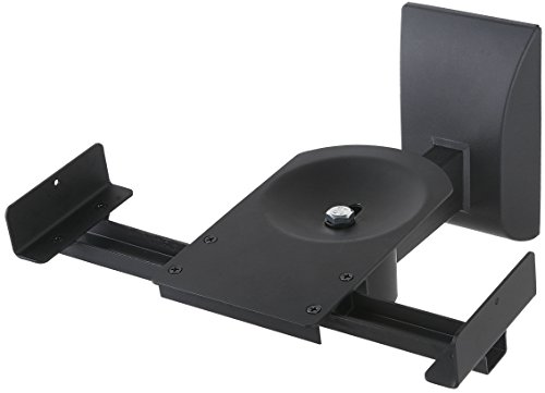 Halter Dual Pair Adjustable Wall Mounting Surround Sound