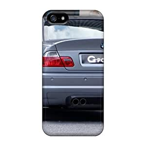 Hot Tpu Cover Case For Iphone/ 5/5s Case Cover Skin - G Power Bmw M3 Rear