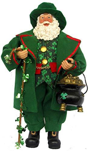 Santa's Workshop Irish Pot of Gold Figurine, 12