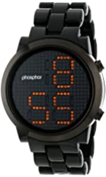 Phosphor Men's MD012G Swarovski Mechanical Digital Watch