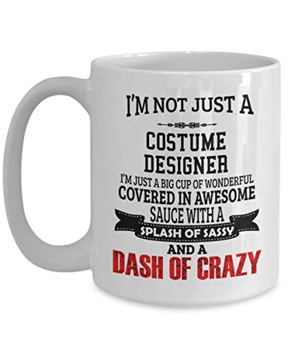 Costume Design Gifts - Costume Designer Tea/Coffee Cup, Unique Coffee Mug For Costume Designer, Ceramic]()