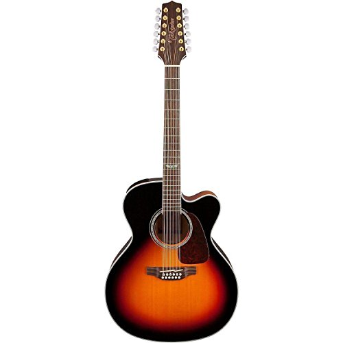 Takamine GJ72CE-12 G Series Jumbo Cutaway 12-String Acoustic-Electric Guitar Gloss Sunburst