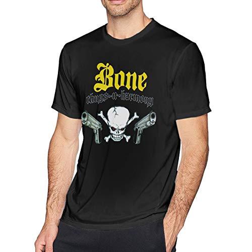 Guangou Mens Particular Bone Thugs-N-Harmony T Shirts 5XL Black