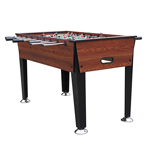 "YTONG 54"" Wooden Game Room Foosball Table - Soccer Game Table with 2 Balls For Adults and Kids"