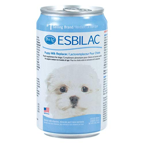 Esbilac Liquid Milk Replacer for Puppies & Dogs, 8oz Can, 4-Pack by PetAg