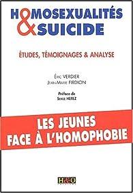 Homosexualités et suicide par Eric Verdier