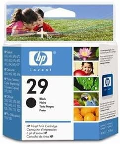 HP 51629A HP29 Black Cartridge