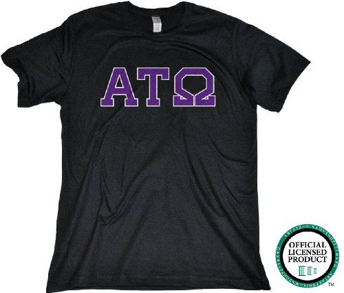 Ann Arbor T-Shirt Co. Men's Alpha Tau Omega Fitted ATO Fraternity T-Shirt