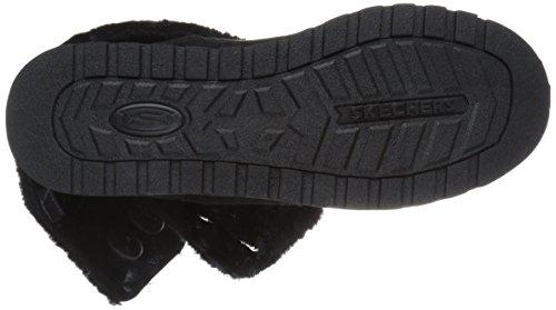 Skechers Women's Keepsakes-Big Button Slouch Mid Winter Boot Black NzutoKIt