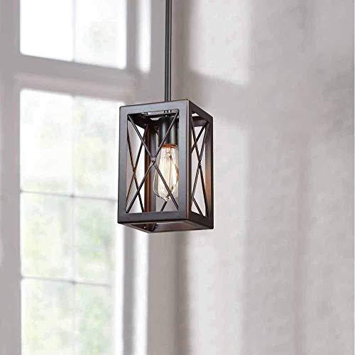 1-Light Royal Bronze Mini-Pendant