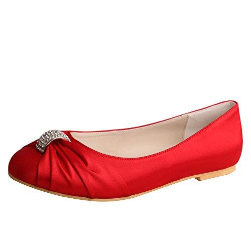 Ballet Red Wedopus Wedopus Ballet mujer wUqcO8xE1