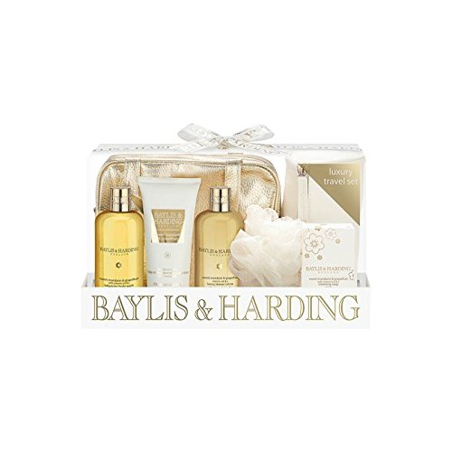 Baylis & Harding Signature Sweet Mandarin & Grapefruit Luxury Travel Set - Pack of 6 by Baylis & Harding