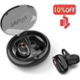ArbilyWirelessBluetooth Earbuds,Bluetooth Earphones with Mic,Sport Headsets with HD Stereo IPX6 Waterproof Air Bud Wireless EarbudsNoiseCanceling Workout Sports Earphones Compatible iphone Andriod