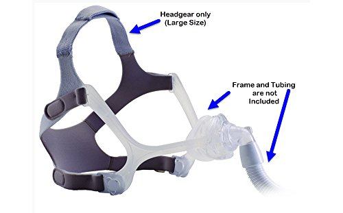Wisp Replacement Headgear, Large - For Heads Large Frames