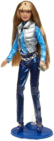 Barbie Fashion Fever: Shannen In Blue Leather Pants by Mattel