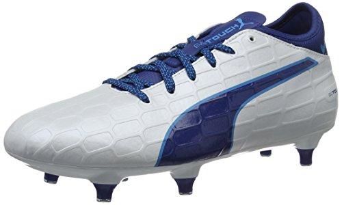 Da Scarpe true blue White Bianco Sg puma Uomo 3 Calcio Puma Blue 02 Danube Evotouch AnRwnx