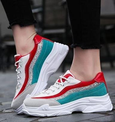 NGRDX&G Zapatos De Malla Mujeres Respirables De Las Señoras Zapatos Casuales Mujeres Zapatillas De Deporte Mujeres Chaussures White
