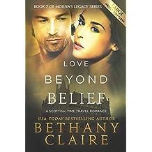 Love Beyond Belief (Large Print Edition): A Scottish, Time Travel Romance