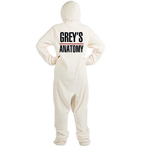 CafePress - Greys Anatomy - Novelty Footed Pajamas, Funny Adult One-Piece PJ Sleepwear -