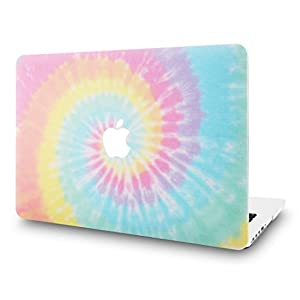 """KEC Laptop Case for Old MacBook Pro 13"""" Retina (-2015) Plastic Case Hard Shell Cover A1502 / A1425 (Colorful Spin)"""
