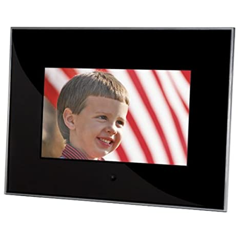 Amazoncom Sunpak 7 Inch Acrylic Digital Photo Frame Black
