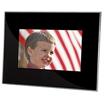 sunpak 7 inch acrylic digital photo frame black