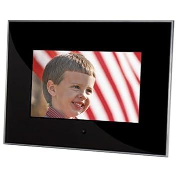 sunpak 7 inch acrylic digital photo frame black