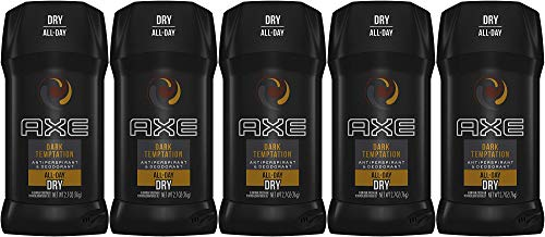 Axe Dry Antiperspirant Deodorant Stick, Dark Temptation, 2.7 Ounce (Pack of 5)