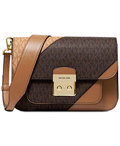 Michael Kors Sloan Editor Tricolor Signature Shoulder Bag ()