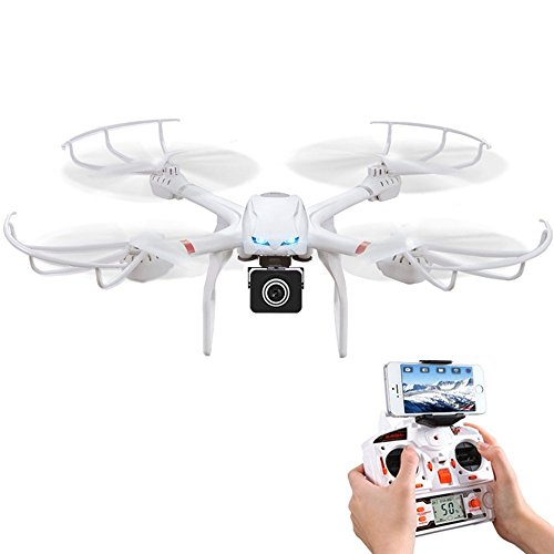 Babrit Uplay FPV Wifi RC Quadcopter with HD 720P Camera
