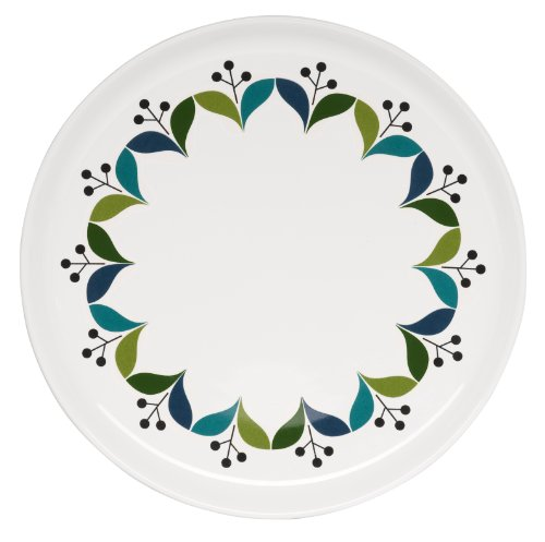 Sagaform 5015828 Stoneware Retro Side Plate, 8-1/4-Inch