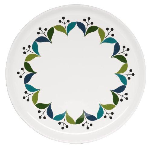 Sagaform 5015828 Stoneware Retro Side Plate, 8-1/4-Inch ()