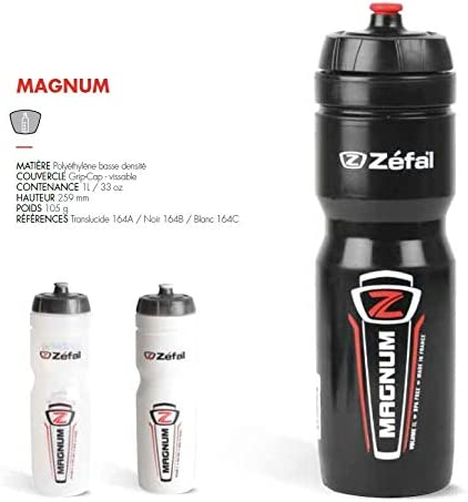 Zefal Magnum Water Bottle White 2016