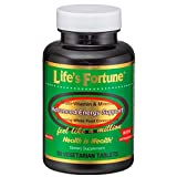 Life's Fortune® Multi-Vitamin & Mineral All Natural Energy Source Supplying Whole Food Concentrates
