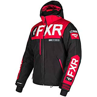Discount FXR Mens Helium X Jacket (Black/Red/White Large)