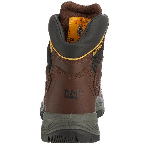 Caterpillar DIAGNOSTIC HI S3 Herren Sicherheitsstiefel Braun (MENS OAK)