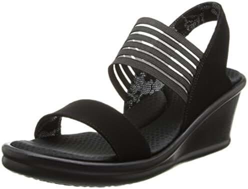 Skechers Cali Women's Rumbler Sci-Fi Wedge Sandal
