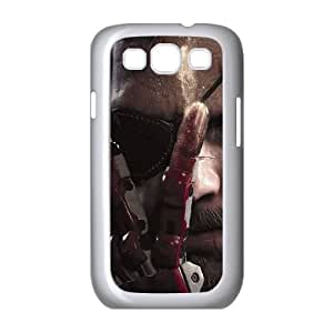 Gear Solid V The Phantom Pain Samsung Galaxy S3 9300 Cell Phone Case White 91INA91154866