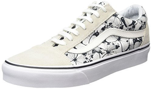 Basse Bianco Old Scarpe Black Vans Adulto skater White da Butterfly Unisex Skool True xR8wUq1Xw