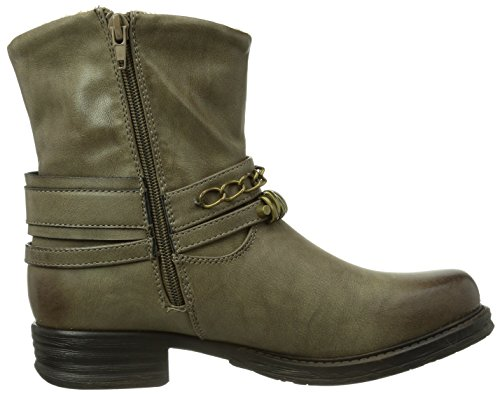 Gerli Dockers Boots 133013 femme 354471 Gris by Dockers by wRH1tqxvPR