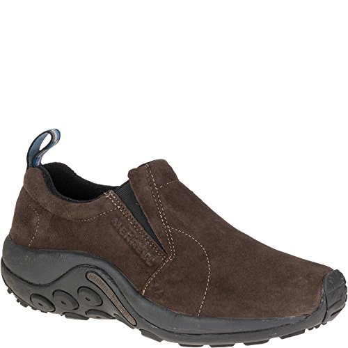 Shoes Leather Casual Men (Merrell Men's Jungle Moc Slip-On Shoe,Fudge,8 M US)