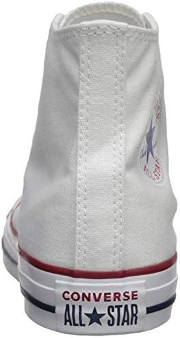 Converse Dames Chuck Taylor All Star Hi Optisch Wit Basketbal Schoen 8.5 Vrouwen US
