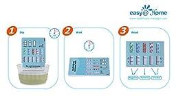 25 Pack #EDOAP-254 Easy@Home 5 Panel Instant Urine Drug Test Kit - Marijuana (THC), ,Opiate (OPI 2000), Cocaine (COC), Amphetamine (AMP), Methamphetamine (MET) - 25 Tests