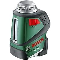 Bosch Linienlaser PLL 360 (Arbeitsbereich 20 m, +/-0,4 mm/m Messgenauigkeit, in Tasche)