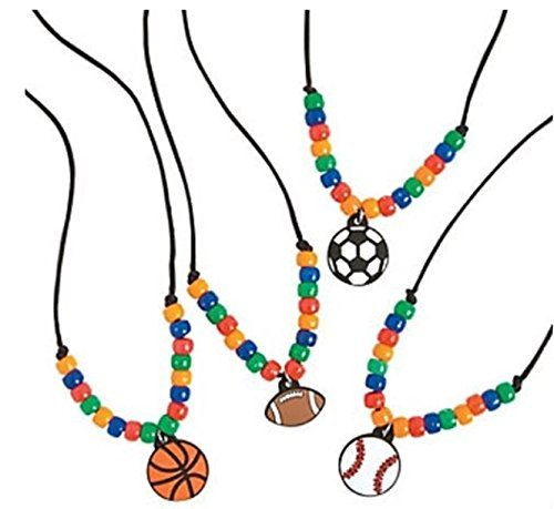 12 - SPORTS necklace craft