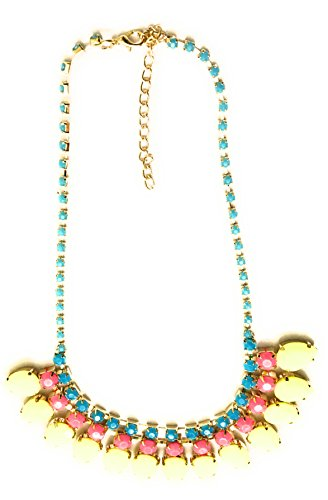 Glitz Fashionable Pink Crystal Statement Necklace for - Co N Uk Tiffany