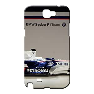 samsung note 2 Strong Protect Phone High Grade Cases mobile phone skins bmw sauber f1 side view