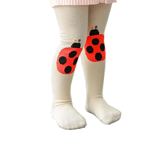 Elevin(TM)Lovely Children Baby Kids Tights Print Knee Knitting Cotton Stockings Pantyhose (0-1Years old, (Halloween Hedgehog Cupcakes)